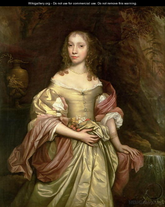 Portrait of Lady Whyte-Dunne - John Michael Wright