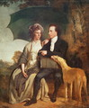 Portrait of Rev. Thomas Gisborne (b.1758) and his Wife Mary, 1786 - Josepf Wright Of Derby