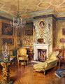 The Yellow Room, Holland House, London - Katherine Montagu Wyatt