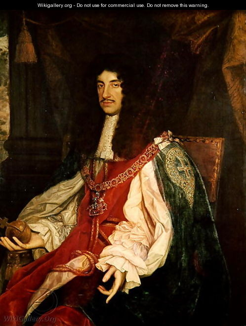 Portrait of King Charles II, c.1660-65 - John Michael Wright