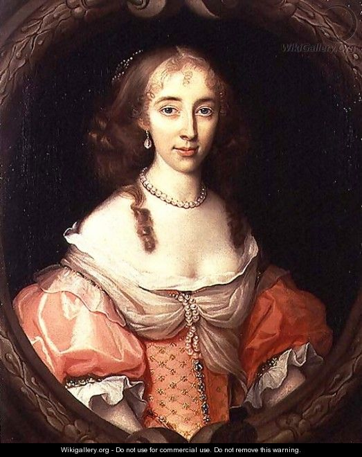 Portrait of Magdalen Aston - John Michael Wright