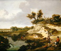 A dune landscape with figures - Jan Wynants