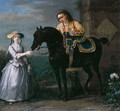 Lady Georgina Caroline Lennox, with Pony and Attendant, 1733 - John Wootton