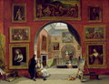 Interior of the Royal Institution, during the Old Master Exhibition, Summer 1832, 1833 - Alfred Woolmer