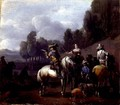 A Hawking Party 2 - Philips Wouwerman
