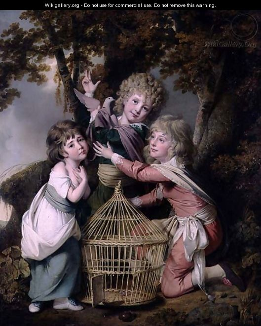 The Synnot Children, 1781 - Josepf Wright Of Derby