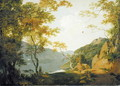 Lake Scene, 1790 - Josepf Wright Of Derby