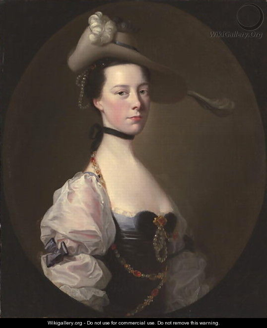 Portrait of a Lady, c.1760 - Josepf Wright Of Derby