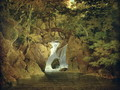 Rydal Waterfall, 1795 - Josepf Wright Of Derby