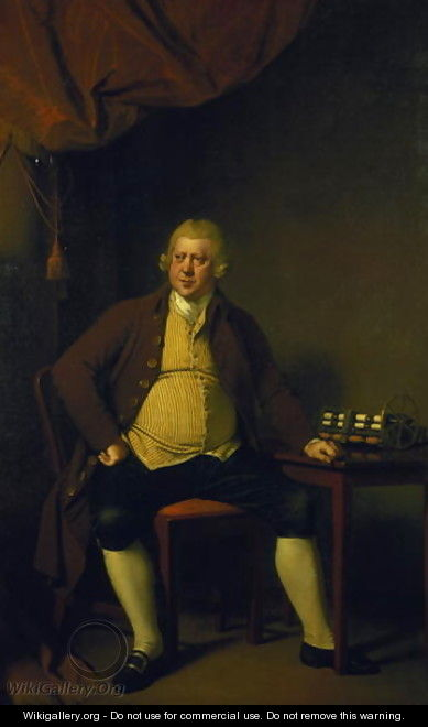 Sir Richard Arkwright, 1789-90 - Josepf Wright Of Derby