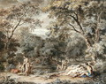Nymphs Bathing in a Wooded Glade, c.1765-70 - William Taverner
