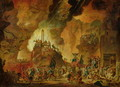 The Triumph of the Guillotine in Hell - Nicolas Antoine Taunay