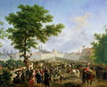 The Entry of Napoleon Bonaparte 1769-1821 and the French Army into Munich, 24th October 1805, 1808 - Nicolas Antoine Taunay