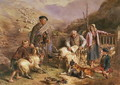 Sheep Shearing - John Frederick Tayler