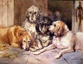 The Otter Hounds - John Frederick Tayler