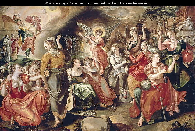 The Wise and the Foolish Virgins - Maarten de Vos