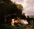 The Cowherd - Friedrich Johann Voltz