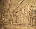 Interior of a Hall - Hans Vredeman de Vries