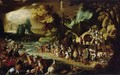 The Crossing of the Red Sea, c.1597-1600 - Sebastien Vrancx