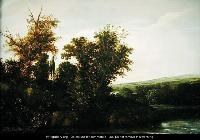 Wooded Landscape 2 - Cornelis Hendricksz. The Younger Vroom