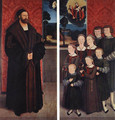Portrait of Conrad Rehlinger and his Children 1517 - Bernhard Strigel