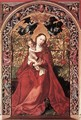 Madonna of the Rose Bush 1473 - Martin Schongauer
