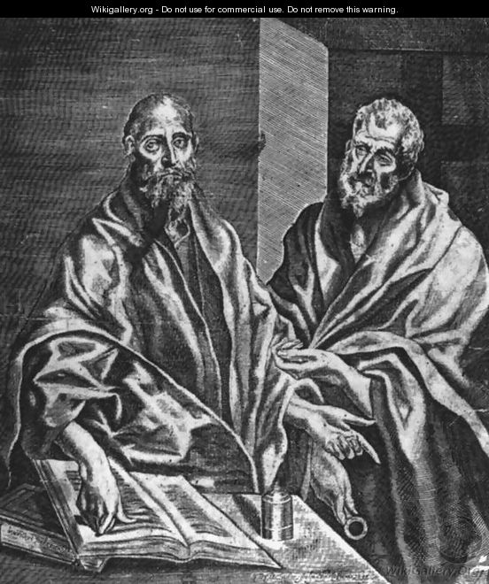 Sts Peter And Paul 1608 - Diego De Astor