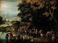 Baptism of the Chamberlains - David Vinckboons