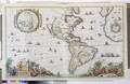 America, plate 84, from Atlas Minor Sive Geographica Compendiosa, 1680 - Nicolaes the Younger Visscher