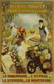 Poster advertising horticulture products with the mark, C.P. - Raoul Vion