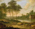 Landscape with a Mill - Johann Christian Vollerdt or Vollaert