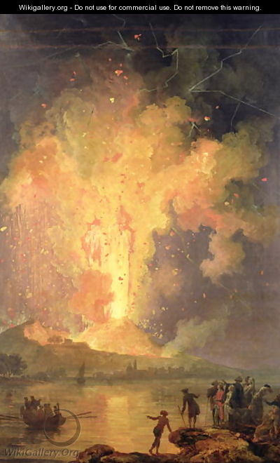The Eruption of Mount Vesuvius in 1779, 1779-1802 - Pierre-Jacques Volaire