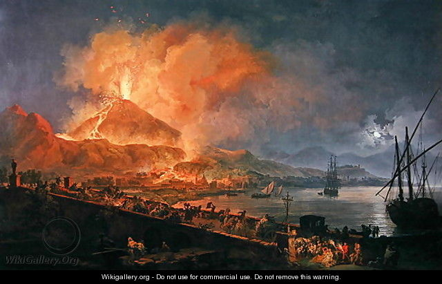 Eruption of Vesuvius in 1771 - Pierre-Jacques Volaire
