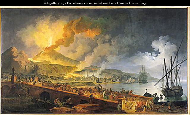 Eruption of Vesuvius in 1771, 1779 - Pierre-Jacques Volaire