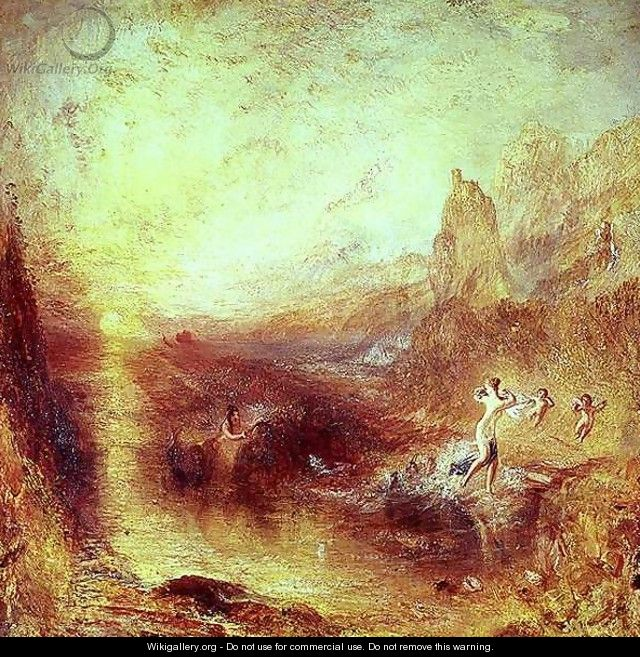 Glaucus and Scylla from Ovids Metamorphoses, 1841 - Joseph Mallord William Turner