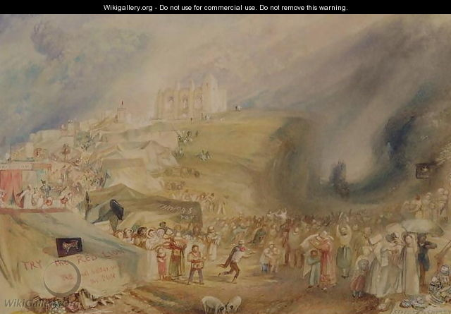 St. Catherines Hill, Guildford, Surrey, 1830 - Joseph Mallord William Turner