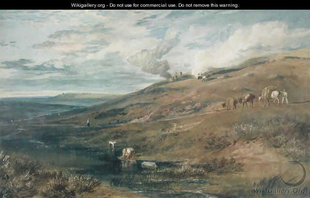 Dartmoor: The Source of the Tamar and the Torridge, c.1813 - Joseph Mallord William Turner