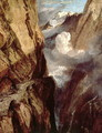 The Pass of St. Gotthard, Switzerland - Joseph Mallord William Turner