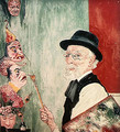 Self Portrait with Masks. 1936 - James Ensor