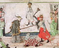Two Skeletons fighting over a Dead Man, 1891 - James Ensor