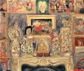 Interior with Three Portraits, 1938 - James Ensor