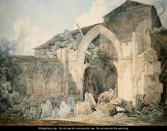 Hereford Cathedral - Joseph Mallord William Turner