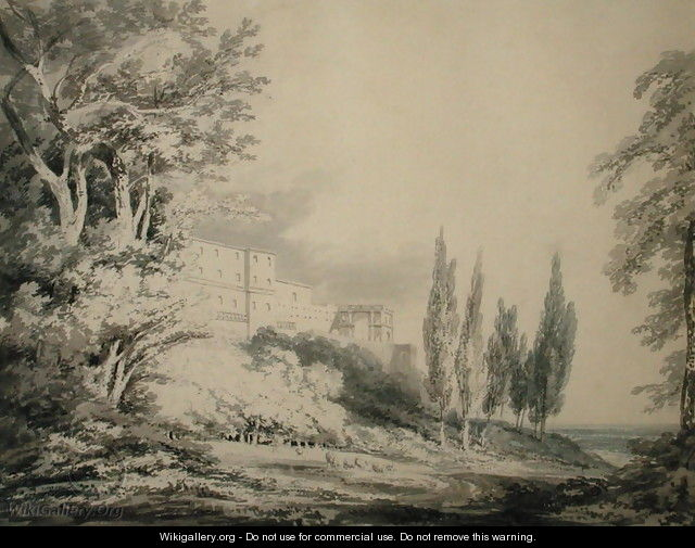 Villa dEste, c.1796 - Joseph Mallord William Turner