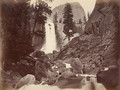 Privy at Vernal Face, Yosemite, USA, 1861-75 - Carleton Emmons Watkins