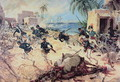 U.S. Marines Capture the Barbary pirate fortress at Derna, Tripoli, 27th April 1805 - C.H. Waterhouse