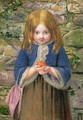 The Orange Girl, 1857 - James Dawson Watson