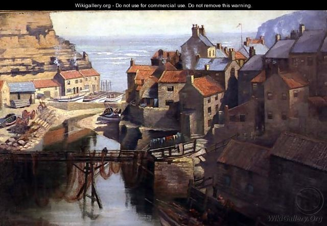 Staithes Village, North Yorkshire - James Watson