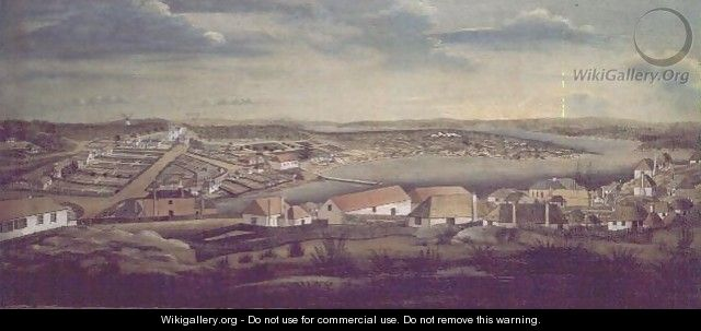 Sydney, capital of New South Wales, c.1800 - (attr.to) Watling, Thomas