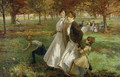 Autumn in Kensington Gardens - James Wallace