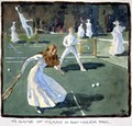 A Game of Tennis in Battersea Park - James Wallace